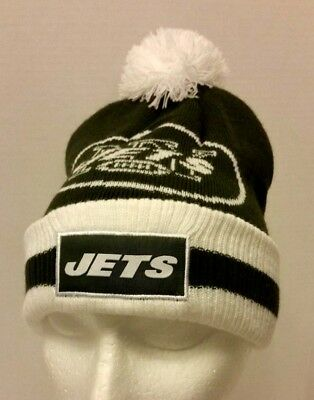 a9c7ff86f4b New York Jets NFL Bud Light Beer Beanie Toque Hat Brewery green white