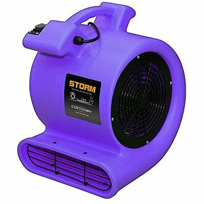 Categories Contair STO2500PU STORM Floor Fan High Air Mover Carpet Dryer Blower,