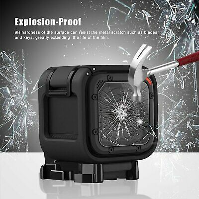 For GoPro Hero 4 5 Session Camera Ultra HD Tempered Glass Screen Protective