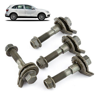 4x 14mm Car Steel Army Green Four Wheel Alignment Adjustable Camber Kit Cam Bolt