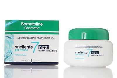SOMATOLINE COSMETIC SNELLENTE 7 NOTTI ultra intensivo 400 ML GEL FRESCO