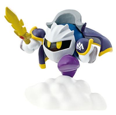 Kirby Super Star Mini Figure Big Eraser Meta Knight Japan Game Nintendo Re-ment