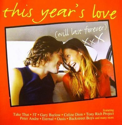 """""""This Year's Love (Will Last Forever)(1996)""""-36 Tracks 2CD-Take That-Oasis-NEW"""