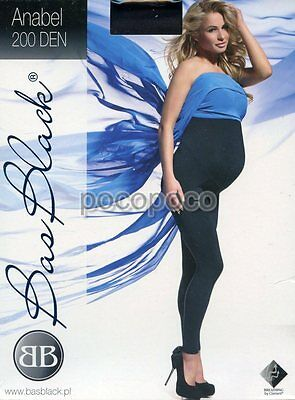 Leggings Maternity 200 Den Bas Black Art. Anabel