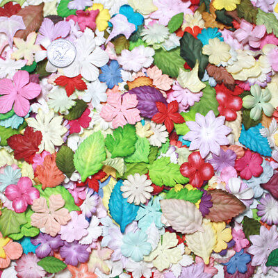 Prima Huge Lot 5001000 Mixed Mulberry Paper Flowers Making Crafts