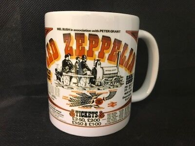 Led Zeppelin   Mug Cup (Can Be Personalised On The Back)