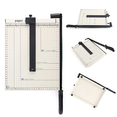 Heavy Duty Professional A4 Paper Guillotine Cutter Trimmer Machine Home Office
