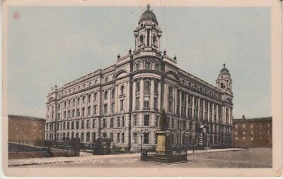 Ireland - The Technical Institute, Belfast (Post Card) 1910's