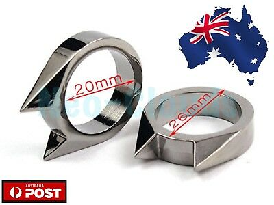 ONE Pc Self Defence Protection Ring Protect Defensive Defense Tool Woman's Men's