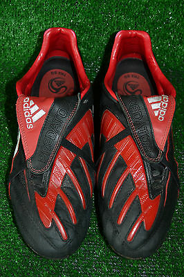 hot sale online 7a8a9 cf3ed Rare Adidas Predator Powerswerve Traxion Soft Ground Football Boots Size 8  Uk