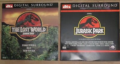 laserdisc    DTS!!  JURASSIC PARK and THE LOST WORLD