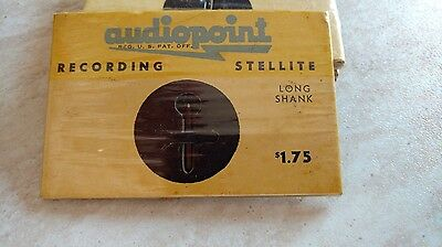 Audiopoint Recording Stellite cutting needle