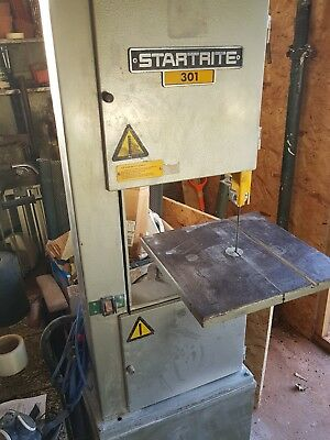 Used Bandsaw Startrite 301 single phase