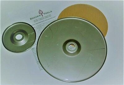 "Dagger Tools 9"" & 4.5"" Metal Shrinking Disc Combo"