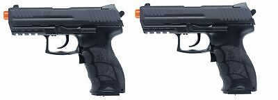 2 x Licensed H&K P30 Prop Pistols BROKEN airsoft guns Prop use only Free Ship!
