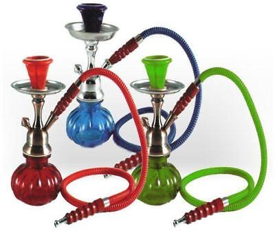 Hookah Single Hose Glass Water Vase Tobacco Shisha Nargile Smoking Bong Set