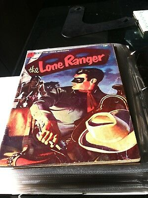 DELL  LONE RANGER COMIC  #71 ---MAY ---  1954   Good + Condition or Better
