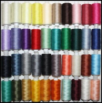 Superstitch 100% Polyester Cotton Sewing Thread 500 Yard Spools Machine/Hand Sew