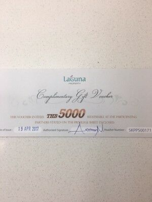 Selling a $200 voucher to be used at any Laguna properties in Phuket, Thailand