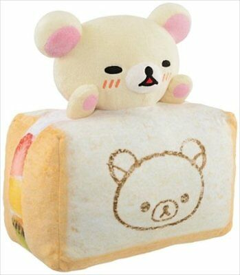 San-x Rilakkuma Lot Bakery B Award Korilakkuma Fruit Sandwich Plush Doll