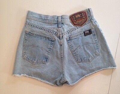 Vtg 1990s Shorts High Rise Cutoffs High Waist Denim Mom Size 26 29 Parasuco