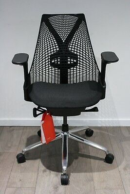 UK & EU DELIVERY | Herman Miller Sayl chairs | Polished base | Lumbar support