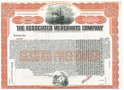 Associated Merchants Co., 19xx, SPECIMEN, rare