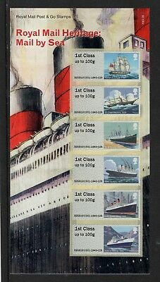 *NEW* Post and Go Mail by Sea Collectors Pack 1st Class x 6
