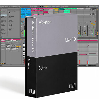Ableton LIVE 10 SUITE - Music Production Software, DAW (Download)