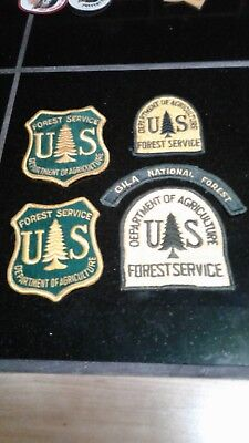 Vintage Lot US Dept Of Agriculture FOREST SERVICE Patches