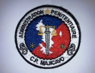 Insigne Ecusson Police Penitentiaire Prison Mayotte Correction Badge Patch