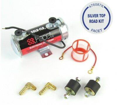 "Kit Facet ""Silver Top"" pompe à essence électrique (12V)"