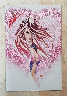 SIGNED FATHOM KIANI MICHAEL TURNER Valentine's Day EXCLUSIVE! SOLD OUT RARE! HTF