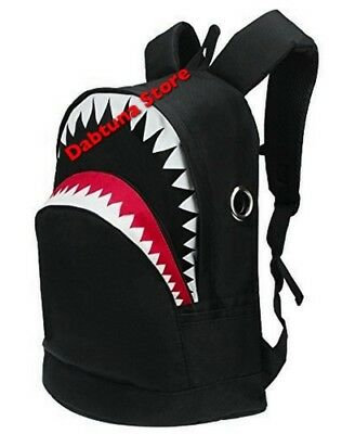 Bape Shark Backpack >> Ayo And Teo Shark Mouth Backpack Bape Head Shark Teeth School Bookpack For Teens