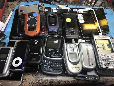 lots of cell phones