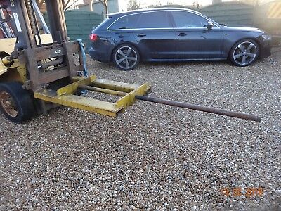 low profile forklift boom forklift attachment