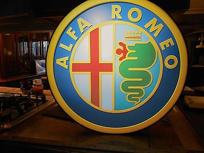 Alfa Romeo Lighted Sign