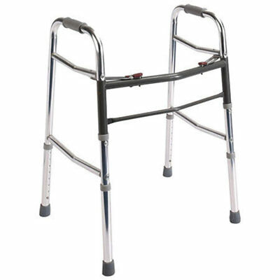 Aluminium Two-Button Folding Walker