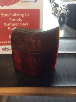 Ford Falcon EB GL Tail Light Right 1992 EB WAGON AMBER ON TOP 4 NUTS AT THE BACK