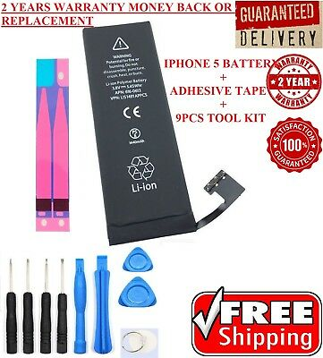 iPhone 5 OEM Genuine Apple Battery Replacement 1440 mAh Li-Ion Battery + Tools