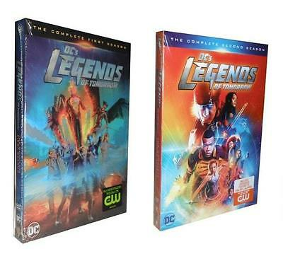 Legends of Tomorrow: The Complete Seasons 1 & 2 (DVD, 2017, 8-Disc Set)