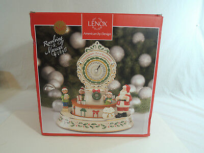 """NEW Lenox Countdown to til Christmas Xmas Centerpiece 10.5"""" in Inch 863639 $300"""