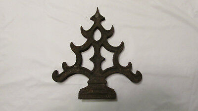 Antique Cast Iron Finial Stove Or Fence Steampunk