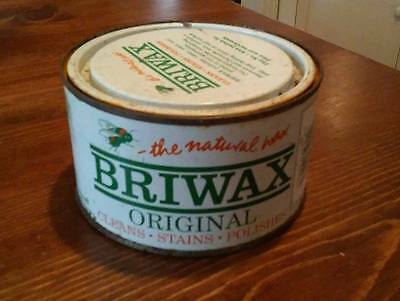 *1 CAN*  ~   BRIWAX ~ Natural Wax~ Med Brown~ 16 oz  [ 5 available ]