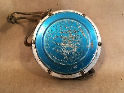 Vintage Spencer 50' Logging Automatic Tape Measure Tool - Model 950 Logger