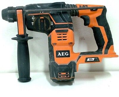 AEG 18V Li-Ion 3 Mode Cordless SDS Plus Rotary Hammer Drill BBH 18 - TOOL ONLY