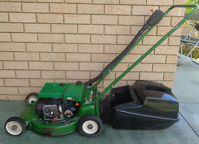 Victa 2 Stroke Lawnmower With Catcher, Good Compression, Not Starting