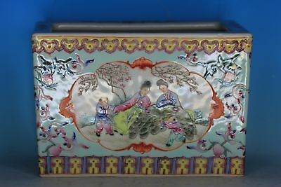 Nice Chinese Famille Rose Porcelain Antique Planter