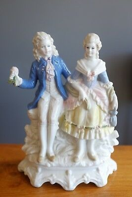 Wagner and Apel German Porcelain Figurine of Couple