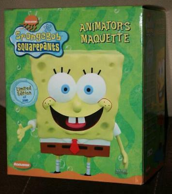 Sponge Bob SquarePants Nickelodeon Limited Edition Animator's Maquette ​200s new